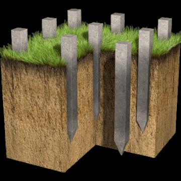 Забивные жб сваи